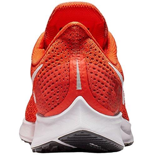 Nike Men's Air Zoom Pegasus 35 Running Shoe Orange/White/Black by Nike (Image #1)