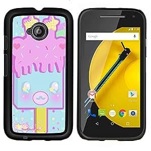 Dragon Case - FOR Motorola Moto G 2nd Generation - Friendship is like earthenware - Caja protectora de pl??stico duro de la cubierta Dise?¡Ào Slim Fit