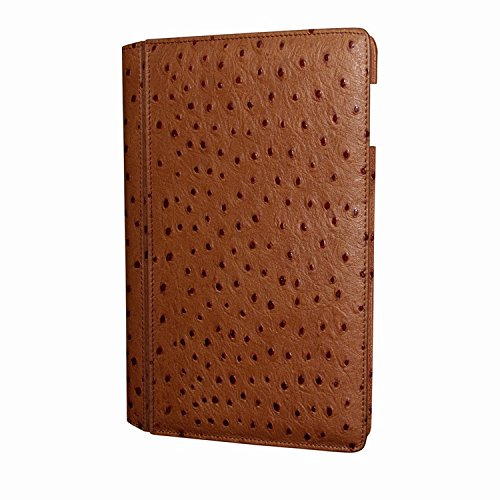 Piel Frama 642 Tan Ostrich Magnetic Leather Case for Apple iPad Air / iPad 2017 Model by Piel Frama