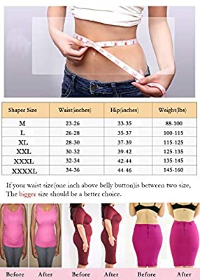 OLIKEME Women's Shapewear,high Waist Tummy Control Shapewear for Women