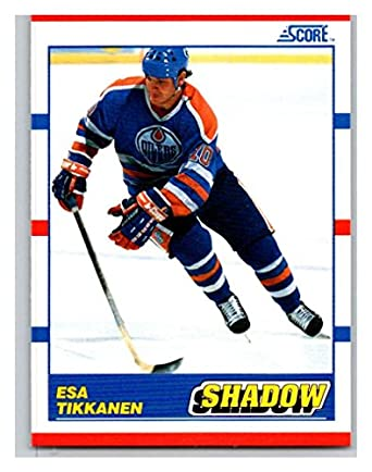 huge selection of 064be 22bd3 Amazon.com: Hockey NHL 1990-91 Score #342 Esa Tikkanen #342 ...