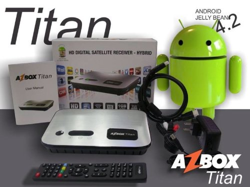 Azbox Titan Double Tunner