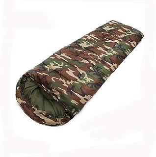 Sweety Sleeping Bag Outdoor Thickening Camouflage Warm Sleeping Bag Camping Indoor Camping Sleeping Bag 220 * 75cm