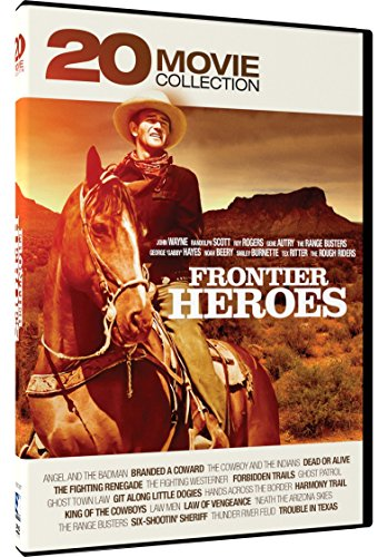 Frontier Heroes - 20 Movie Collection (Frontier Sunglasses)