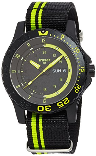 Traser Watch Swiss-Movement RONDA MIL-G Green spirit 9031564 by Traser