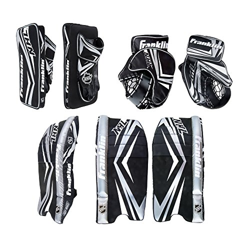 Franklin Sports NHL Junior SX Comp 100 Goalie Set, Small/Medium