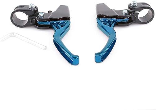Kemai – Un par de manetas de freno para bicicleta, Azul: Amazon.es ...