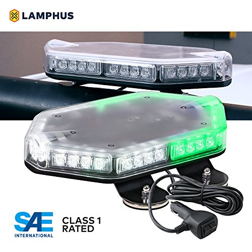 Green And White Led Emergency Lights