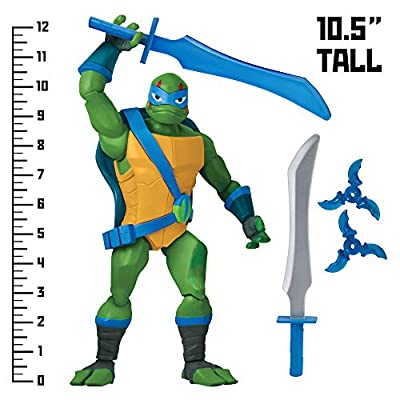 Rise of the Teenage Mutant Ninja Turtles Leonardo Giant Figure, Multicolor