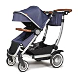 Austlen Entourage Baby & Toddler Stroller: Travel System Double Strollers for Boys & Girls – Navy Review
