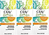Olay Fresh Effects Clear Skin Redness and Pore Reducing Swirled Mattifier, 1.35 Ounce (Pack of 3)