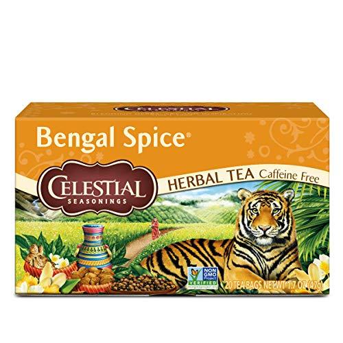 Celestial Seasonings Bengal Spice Herbal Tea 20-Count (Pack of 6)
