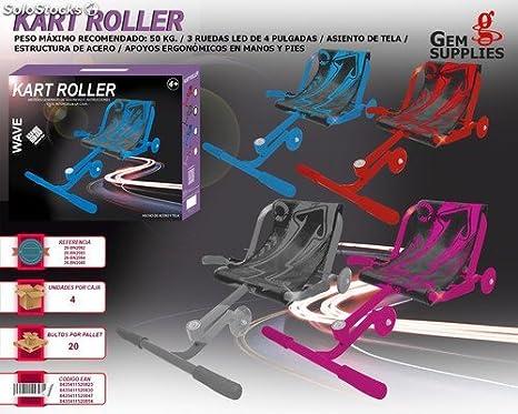 WEME - Wave Roller Kart Azul: Amazon.es: Deportes y aire libre