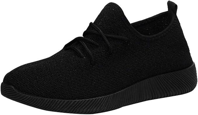 uirend Zapatos Aire Libre y Deportes Running Atletismo Mujer - Zapatillas de Deporte Gimnasio Running Casual Zapatos Sneakers para Mujer: Amazon.es: Zapatos y complementos