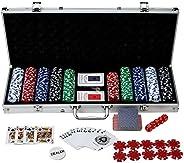 Hathaway Monte Carlo 500 Piece Poker Set