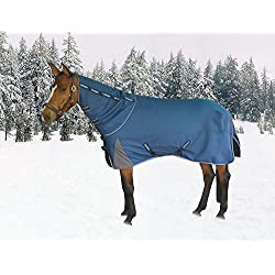 TuffRider Optimum 1680D Triple Weave Heavy Weight Turnout Blanketf with Detachable Neck