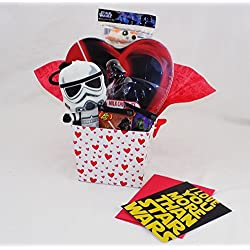 I Love You More Than Star Wars - Valentine's Day Candy Gift Basket Rogue One