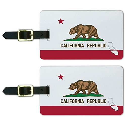 California Home State Luggage Suitcase
