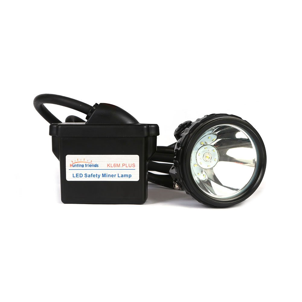 Lithium Battery Safety Miner Lamp KL6M Plus Rechargeable Headlamp LED Mining Cap Lamp Headlight