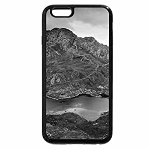 iPhone 6S Plus Case, iPhone 6 Plus Case (Black & White) - The Beauty of Wales