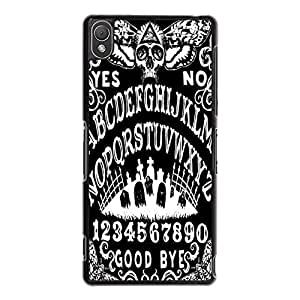 Sony Xperia Z3 Phone Cover Shell, Cool Special Style Retro Witchcraft Spirit Board Design Ouija Board Phone Case Cover for Sony Xperia Z3
