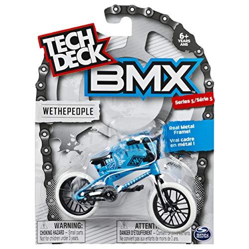 Tech Deck - BMX Finger Bike - WeThePeople - White/Blue - Series 5 by Tech Deck (Image #2)