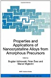 Properties and Applications of Nanocrystalline Alloys from Amorphous Precursors, , 1402029632