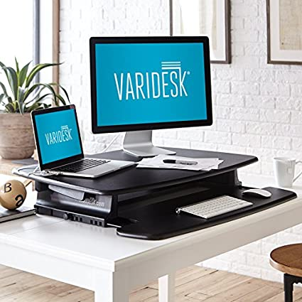 Amazon.com : VARIDESK   Height Adjustable Standing Desk   Pro 36 : Computer  Monitor Stands : Office Products