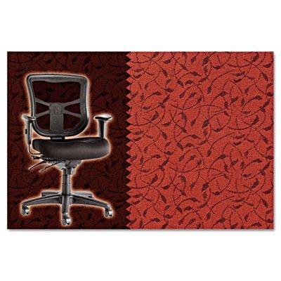 Alera Elusion Series Mesh Mid-Back Swivel/Tilt Chair, Whirl Tomato (Tomato Whirl)