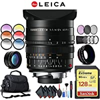 Leica 24mm f/1.4 Lens (11601) Complete Accessory Kit with Corel Photo Essentials Software (Mac)