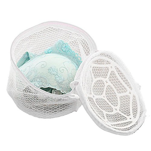 LtrottedJ New Lingerie Underwear Bra Sock Laundry Washing Aid Net Mesh Zip Bag Rose
