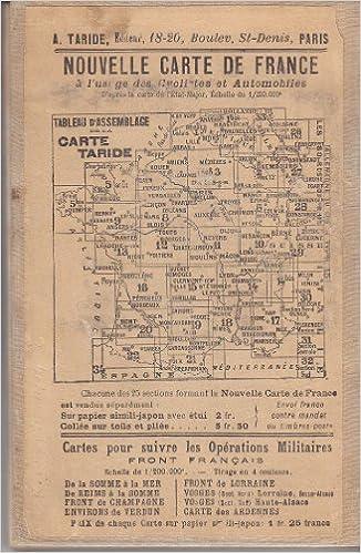 Nouvelle Cartes De France Environs De Paris Nord Est No3