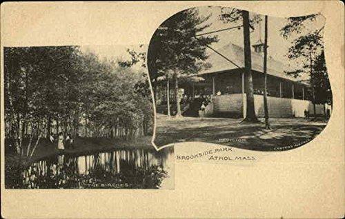 , Massachusetts Original Vintage Postcard ()