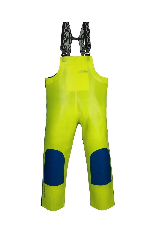 Pros Extreme - Pantaloni tipo salopette da pescatore, da vela, professionale, resistente. con rinforzo