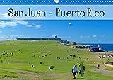 San Juan - Puerto Rico 2020 (Wandkalender 2020 DIN A3 quer): Das bunte Leben in der karibischen Metropole, voller Farbenpracht, Sonne und Meer (Monatskalender, 14 Seiten )