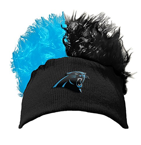 Officially Licensed NFL Carolina Panthers Flair Hair Beanie (Flair Nfl Football)