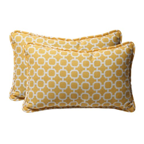 Pillow Perfect Decorative Geometric Rectangle
