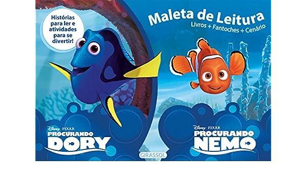Procurando Dory e Procurando Nemo - Coleção Disney. Caixa Maleta de Leitura: Vários Autores: 9788539418084: Amazon.com: Books