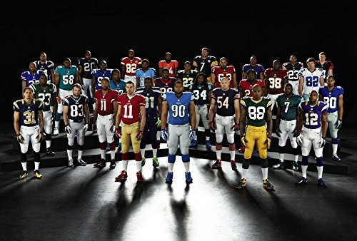 Silk Nfl Football - XXW Artwork NFL National Football League Poster Prints Wall Decor Wallpaper