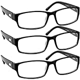 aaee08fa975 Buy Reading Glasses 2 Pack Black  Always Have a Timeless Look ...