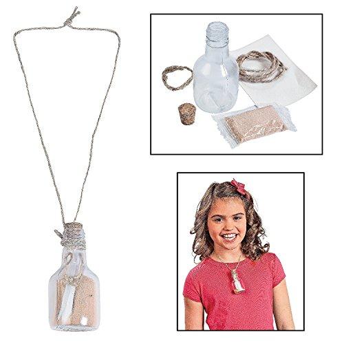 Design Message Bottle Necklaces Craft
