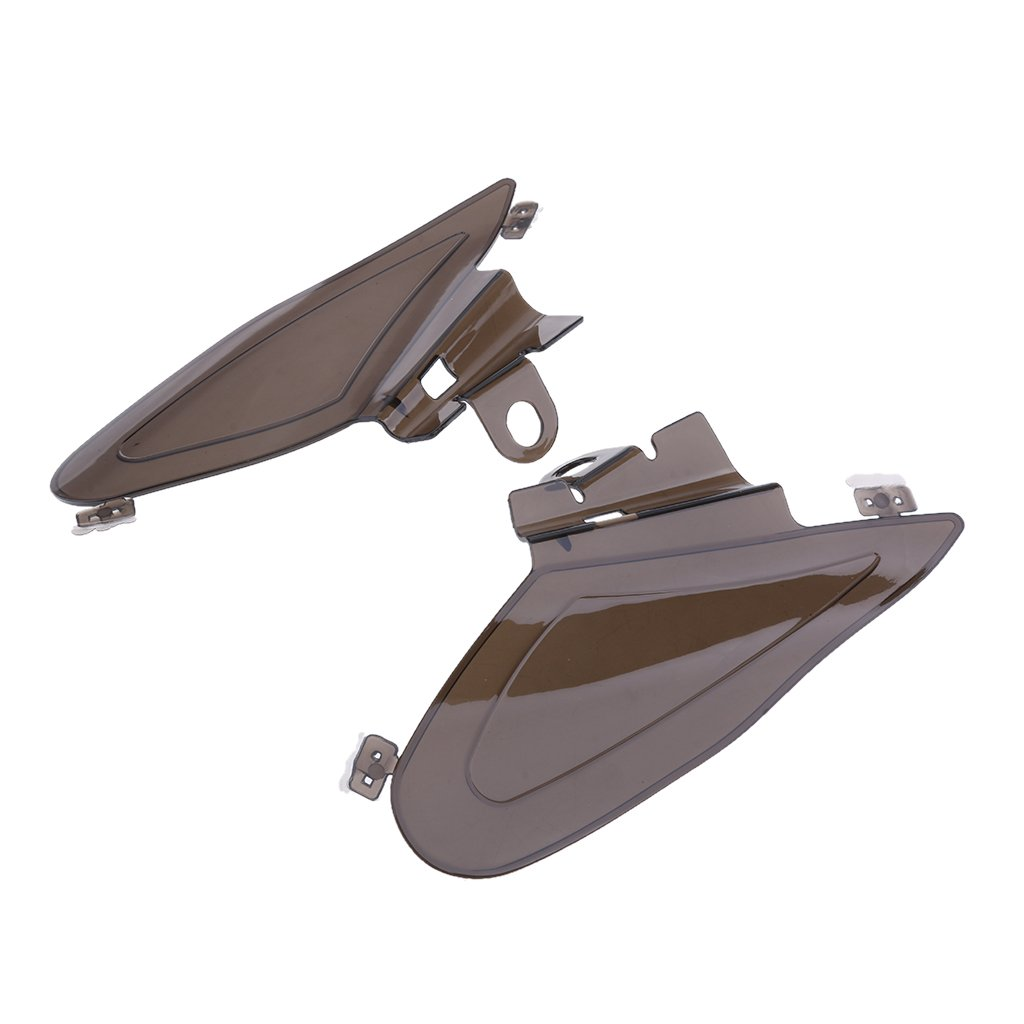 Homyl 2pcs Plastic Engine Heat Shields Saddle Air Deflectors for Indian Chief Dark Horse Chieftain Roadmaster