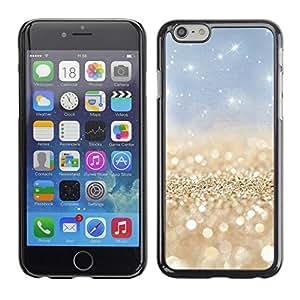"""Pulsar Snap-on Series Teléfono Carcasa Funda Case Caso para Apple Iphone 6 Plus / 6S Plus ( 5.5 ) , Perlas Oro brillante cielo azul Blanca"""""""
