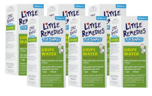 Little Remedies Tummys Gripe Water, 4 Ounce, 6 Pack