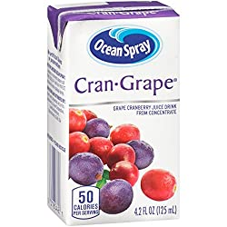 Ocean Spray Cranberry Juice Drink, 4.2 Ounce Juice Boxes (Pack of 40)