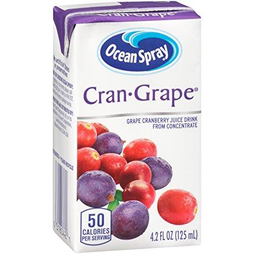 (Ocean Spray Juice Drink, Cran-Grape, 4.2 Ounce Juice Box (Pack of 40))