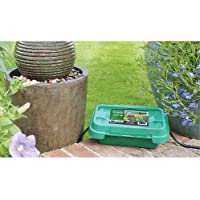 SOCKiT BOX FL-1859-200-G Small Weatherproof Powercord Connection Box 200, Green