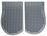 SweetCheeks Cellulite Massage Mat: Increase Local Circulation While You Sit - Reduce the appearance of Cellulite - FDA Listed – Portable - No creams or scrubbing required! Smoke Gray (Flexible)