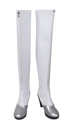 sale retailer d0804 eb132 Amazon.com: Fate/Stay Night Saber Racing Ver. Cosplay White ...