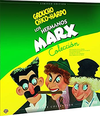 Hermanos Marx Colección Vintage Funda Vinilo 5 Películas DVD ...